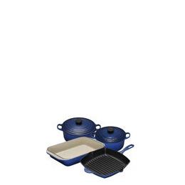 Le Creuset Graded Blue 4 Piece Cast Iron Pan Set Reviews