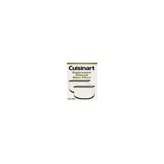 Cuisinart 2 x Charcoal Water Filters for DGB900/DGB600/DCC2000/DCC2400U