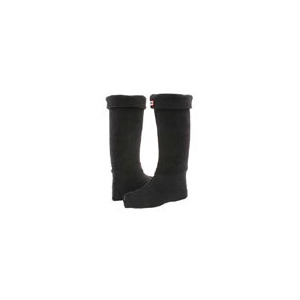 Photo of Hunter Fleece Welly Socks In Black Sock