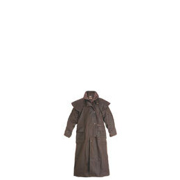 Driza-Bone Lightweight Oilskin Full Length Riding Coat in Brown Reviews