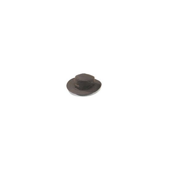 Driza-Bone Oilskin Slouch Hat in Brown