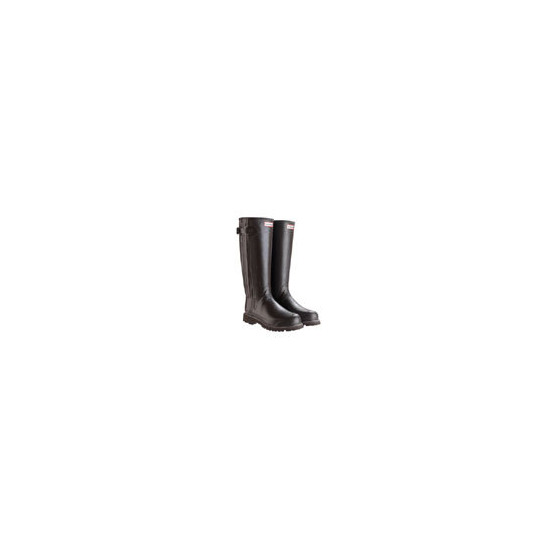 Hunter Sovereign Brown Adult Wellies - Wide Fit - Select Size