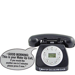 Telephone Alarm Clock Reviews