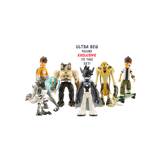 Ben 10 Ultimate Figure Set