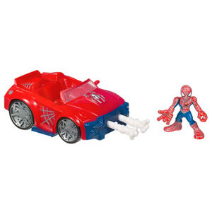 Photo of Spider-Man - Super Hero Squad Spider Racer Toy