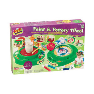 Photo of Paint and Pottery Wheel Toy