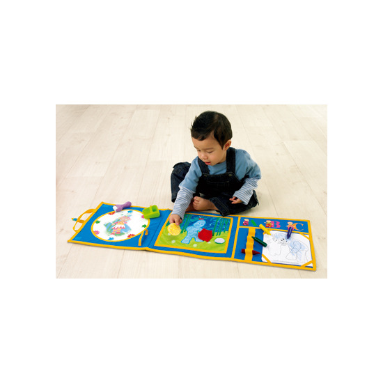 Crayola - In the Night Garden Happy Hands Art Mat