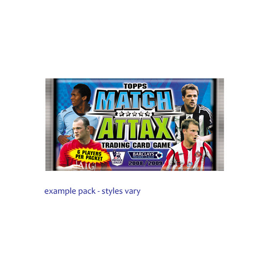 Match Attax Trading Card Game 08/09