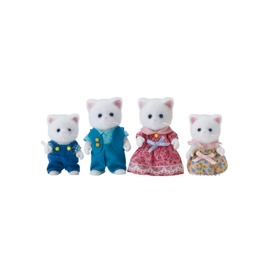 Persian Cat Family Doll FS-28 Sylvanian Families Japan Calico Critters Epoch