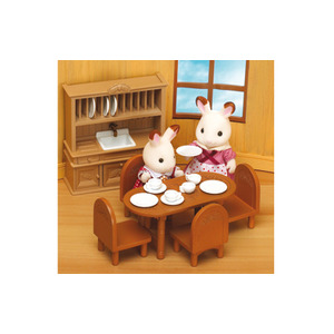 Photo of Sylvanian Families - Dining Room Furniture Set Toy