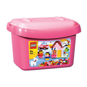 Photo of Creative Building System - Pink Brick Box Toy