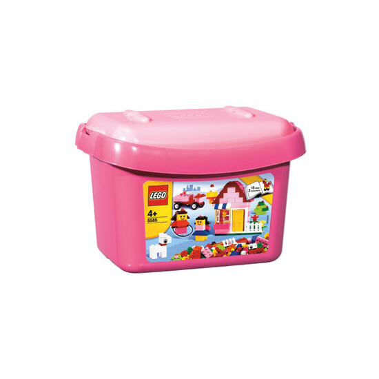 Creative Building System - Pink Brick Box