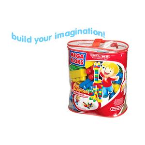 Photo of Mega Bloks Large Maxi Bag - Primary Colours Toy