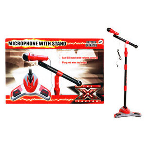 Photo of X Factor Centre Stage Mic and Stand Toy