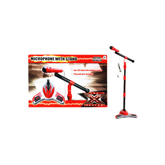 X Factor Centre Stage Mic and Stand