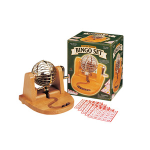 Photo of Solid Wood Bingo Set Toy