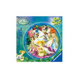 Photo of Disney Fairies 100 Piece Round Foil Puzzle Toy