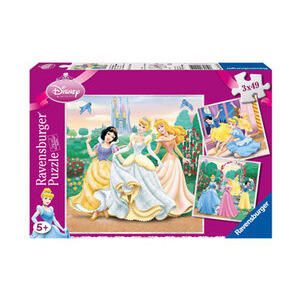 Photo of Disney Princess 3 X 49 Piece Puzzles In  A Box Toy