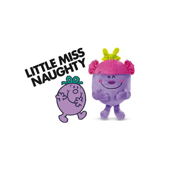 Mr Men Show Soft Friends - Little Miss Naughty