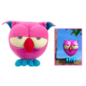 Photo of The Owl Feature Plush With DVD Toy