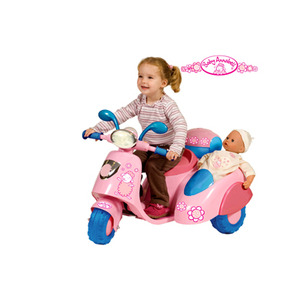 Photo of Baby Annabell Battery Operated Scooter With Side Car Toy