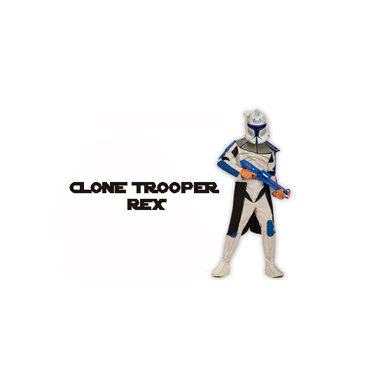 Clone Trooper Leader Rex Outfit - Medium