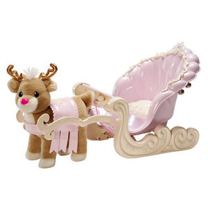 Photo of Baby Born Sleigh With Reindeer Toy