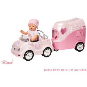 Photo of Baby Born Car and Horse Trailer Toy