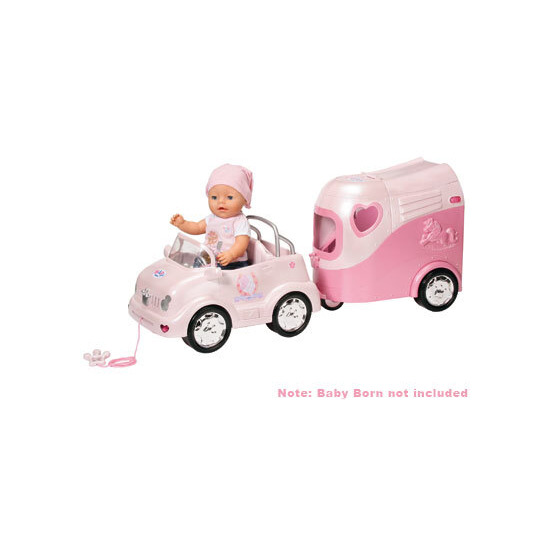 Baby Born Car and Horse Trailer
