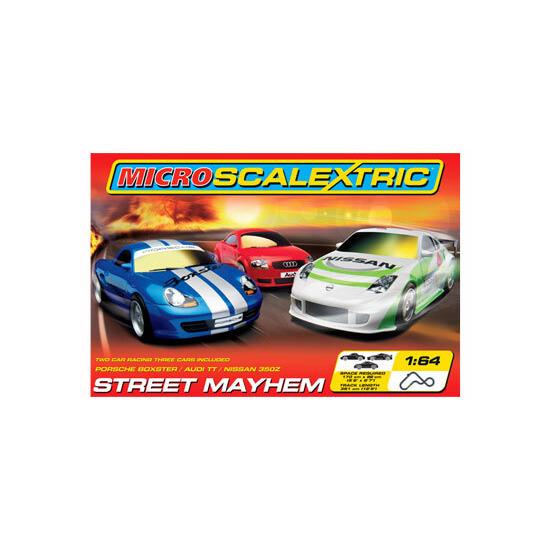 Micro Scalextric - Street Mayhem Set