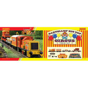 Photo of Hornby - Railroad Bartellos' Big Top Circus Train Set Toy