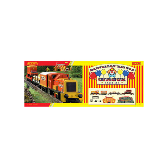 Hornby - Railroad Bartellos' Big Top Circus Train Set