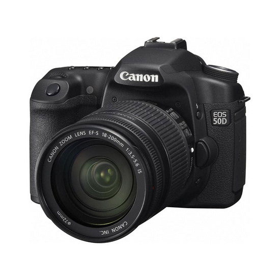 Canon EOS 50D with 18-200mm lens
