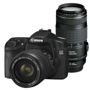 Photo of Canon EOS 50D With 17-85MM and 70-300MM IS Lenses Digital Camera