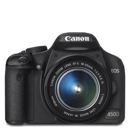 Canon EOS 450D with 17-85mm and 70-300mm lenses Reviews