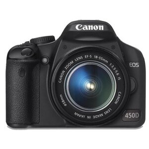 Photo of Canon EOS 450D With 17-85MM and 70-300MM Lenses Digital Camera