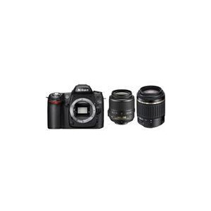 Photo of Nikon D80 Twin Lens Bundle Digital Camera