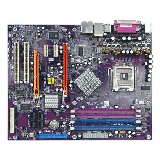 ECS 7050M-M MATX Motherboard - With AMD Athlon x2 4600 Processor
