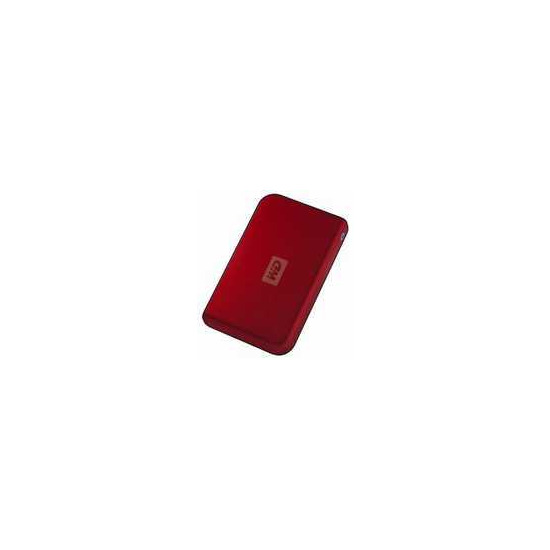 WD PASSPORT 250 RED