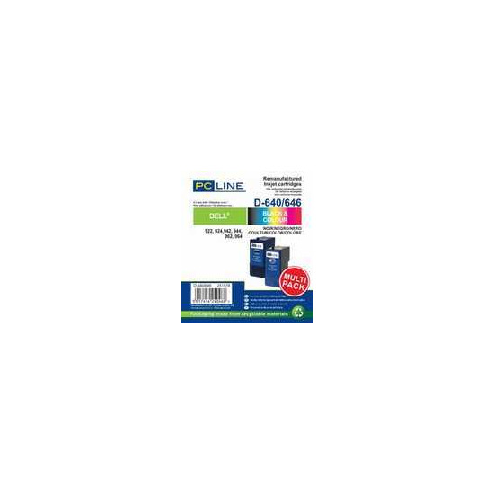 PC Line Dell M4640 & M4646 Dell Compatible Multipack Ink Cartridge