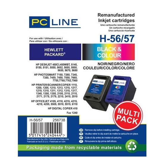 PC LINE HP H56/57 MULTI