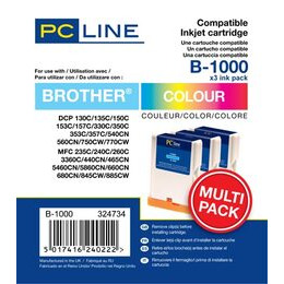 PC Line Brother LC1000 Inkjet Cartridges Reviews