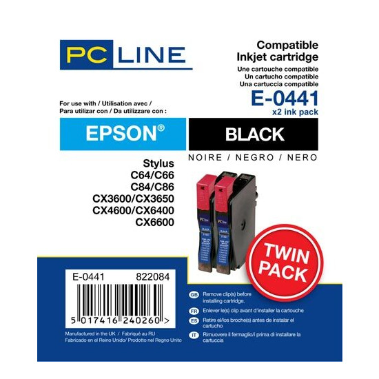 PC Line Epson T0441 Inkjet Cartridges