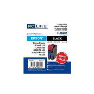 Photo of PC LINE E0481 BLK TWIN Ink Cartridge