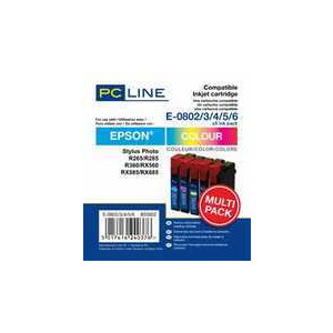 Photo of PC LINE E082-6 CLRX5PK Ink Cartridge