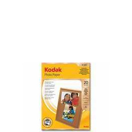 Kodak 4x6 Gloss Photo Paper (20 sheets) Reviews