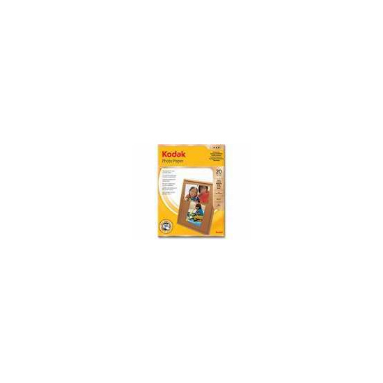 Kodak 4x6 Gloss Photo Paper (20 sheets)