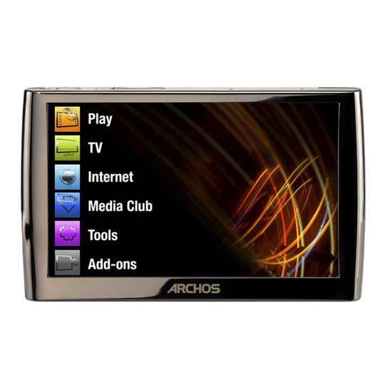 Archos 5 120GB Internet Media Tablet
