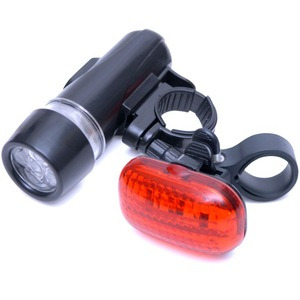 Photo of Rolson LED Bicycle Light Set - 2 Piece Power Tool