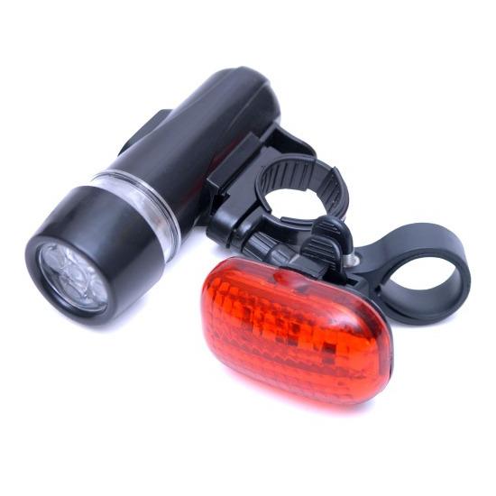 Rolson LED Bicycle Light Set - 2 Piece